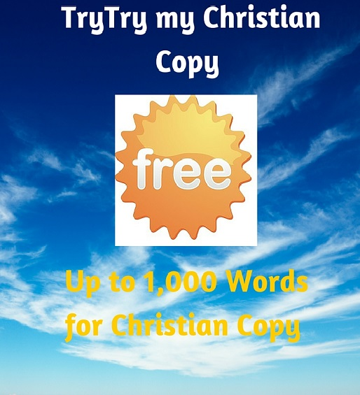 Christian copywriter - free offer